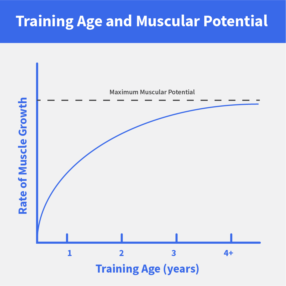 Training Age: How Close Are You to Your Maximum Potential?