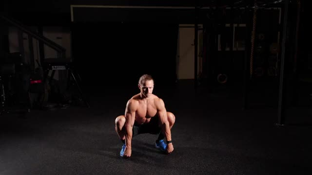 Squat Reach demonstration