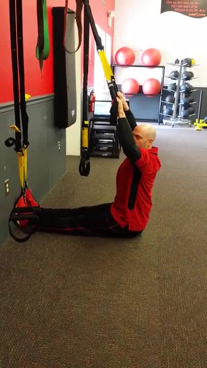 Suspension Pull Up demonstration
