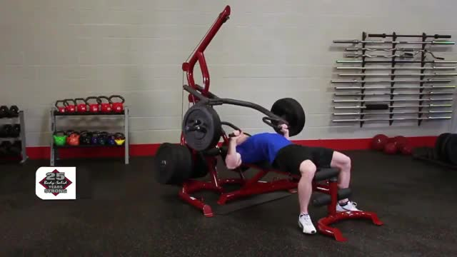 Lever Bench Press demonstration