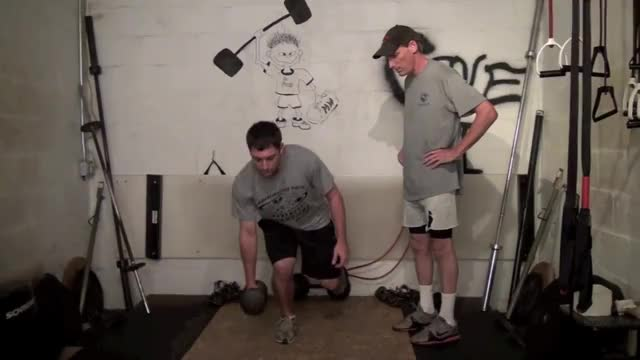 One-Arm One-Leg Dumbbell Deadlift demonstration