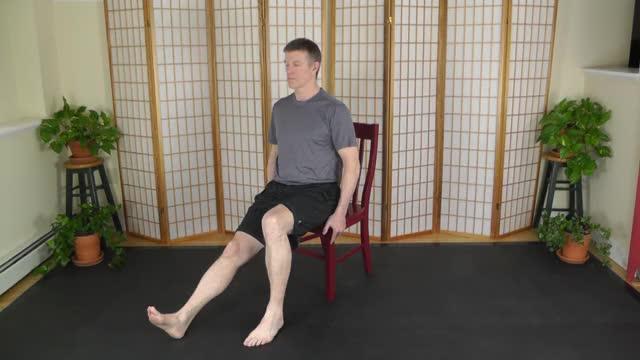 Seated Hamstring Stretch (Partner Assisted) demonstration