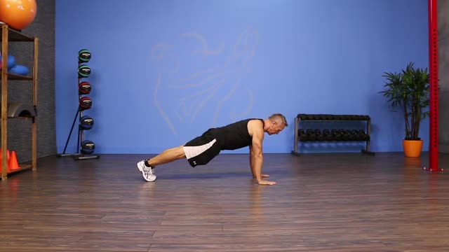 Plank Pike Jumps demonstration