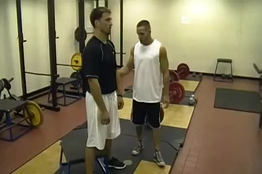Sit Squats demonstration