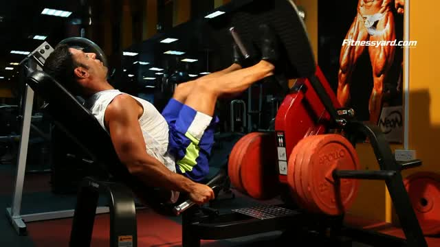 Narrow Stance Leg Press demonstration