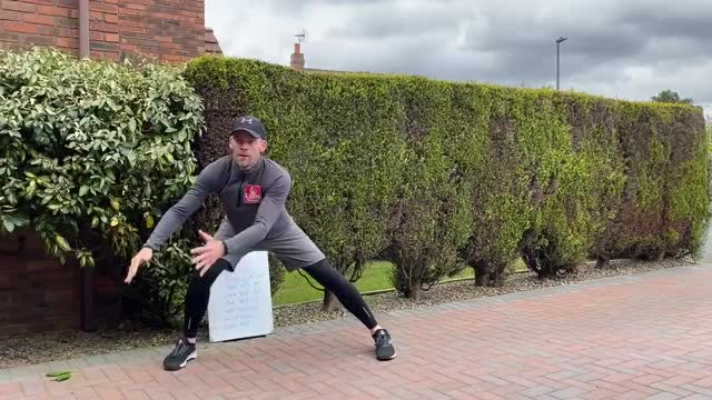 Side Lunge Sweep demonstration