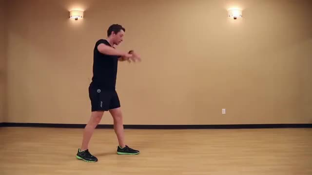 Lunge with Side Bend demonstration