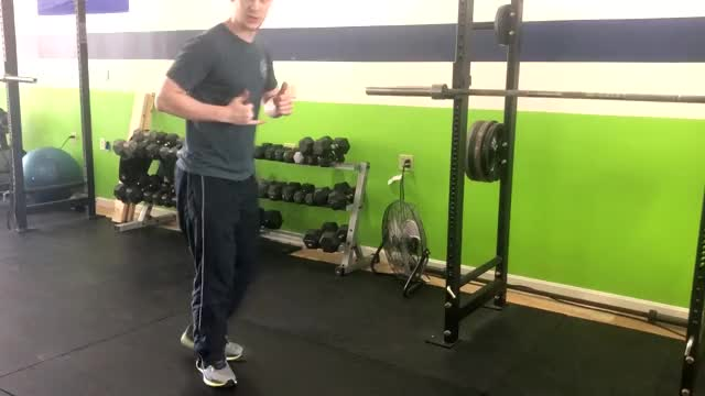 Squat to Burpee demonstration