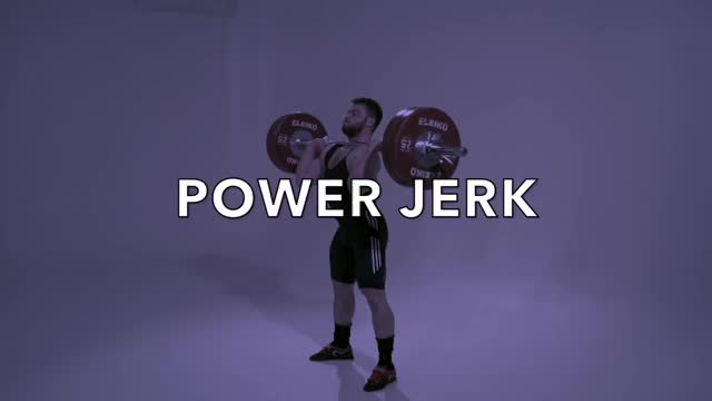 Power Jerk demonstration
