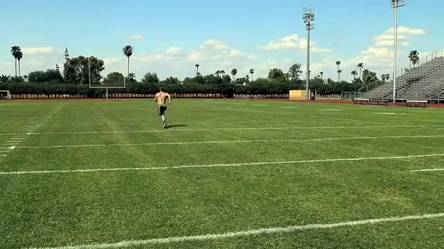 Male Sprint demonstration