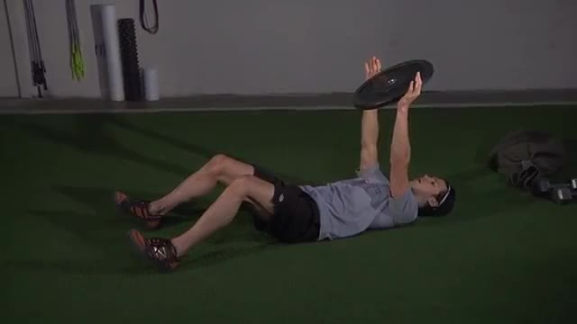 Weighted Sit-up demonstration