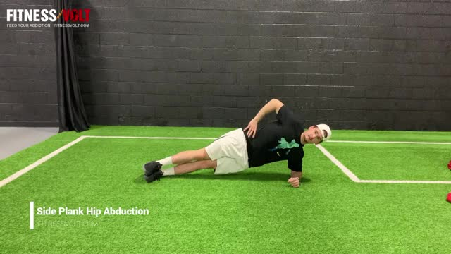 Side Kick Plank demonstration