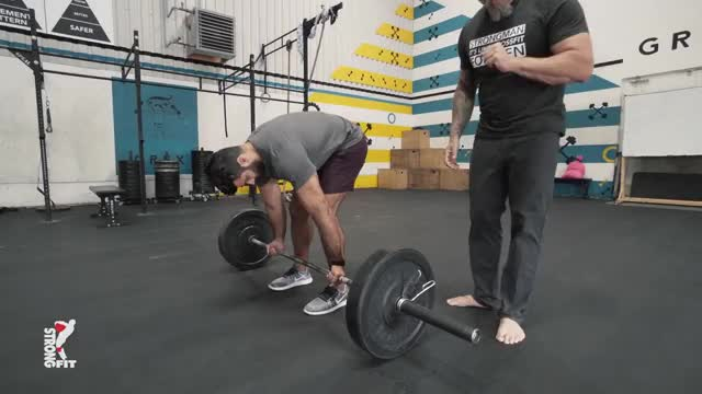 Yates Row Reverse Grip demonstration