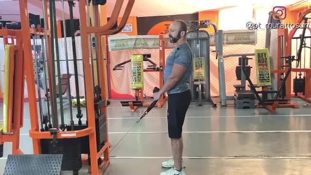 Cable Hammer Curl demonstration