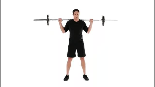 1/4 Squat demonstration