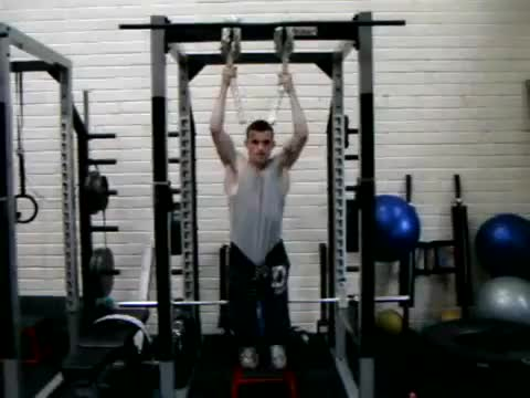 Rope Pull Up demonstration