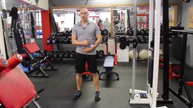 Cable Standing Shoulder External Rotation demonstration