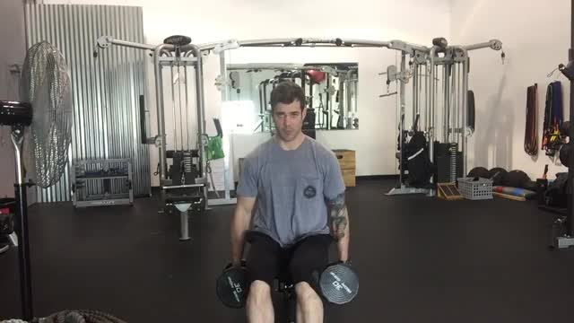 Male Lateral Raise Partials demonstration