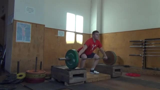 Snatch from Blocks demonstration