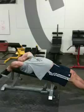 Male Decline Leg Raise With Hip Thrust demonstration