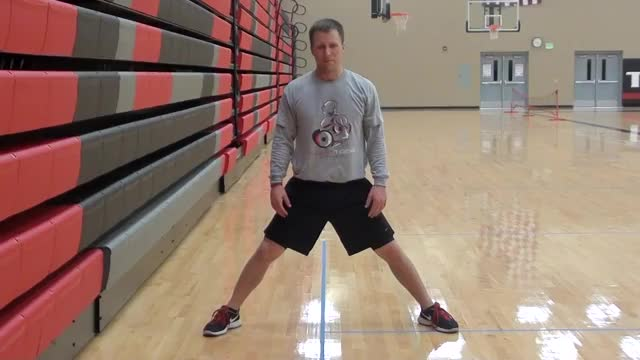 Male Standing Groin Stretch demonstration