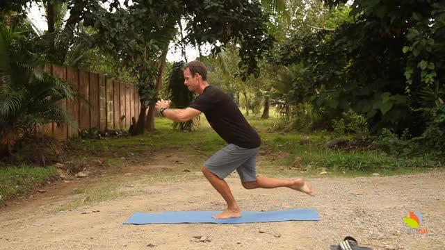 Single Leg Balance Reach Multiplanar demonstration