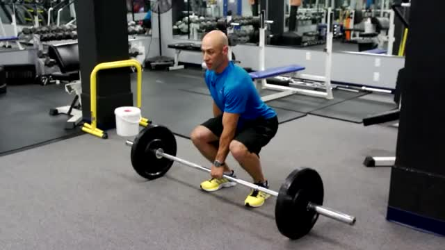 Single-Arm Deadlift demonstration
