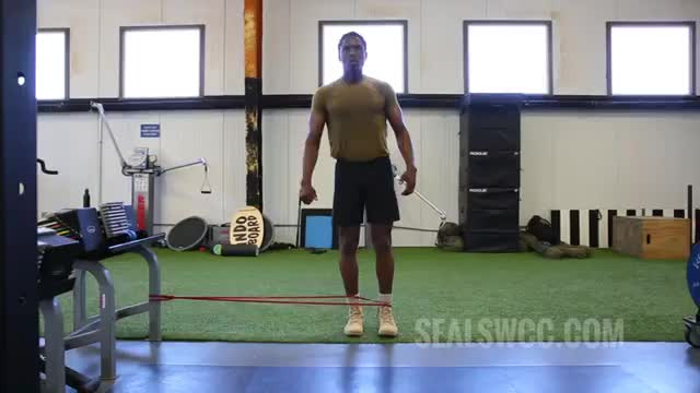Standing External Rotation demonstration
