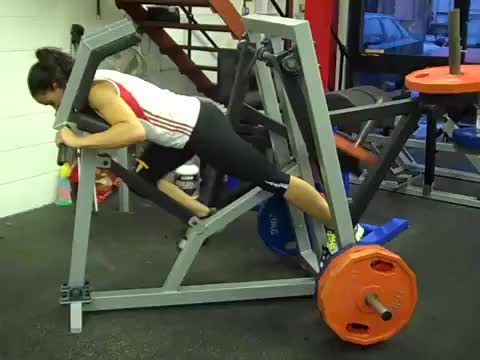 Lever Power Runner (plate loaded) demonstration