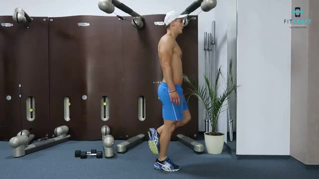 One Leg Floor Calf Raise demonstration