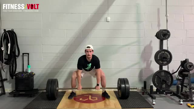 Barbell Sumo Deadlift demonstration