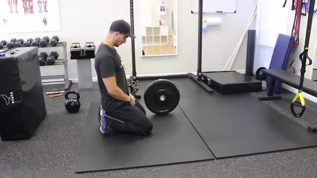 Weighted Plank demonstration