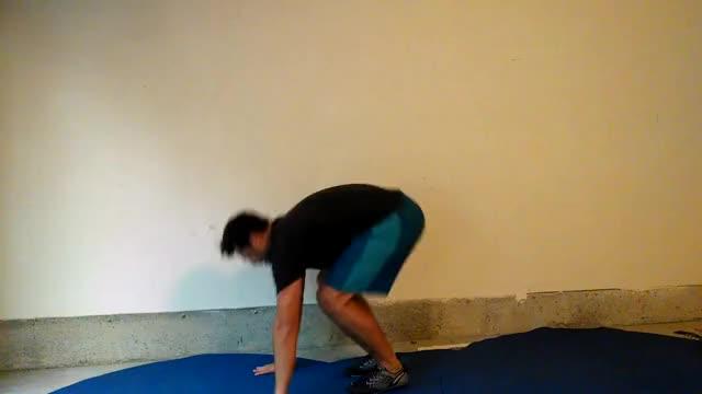 Squat Thrusts demonstration