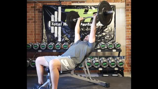 Seated Barbell Overhead Triceps Extension demonstration