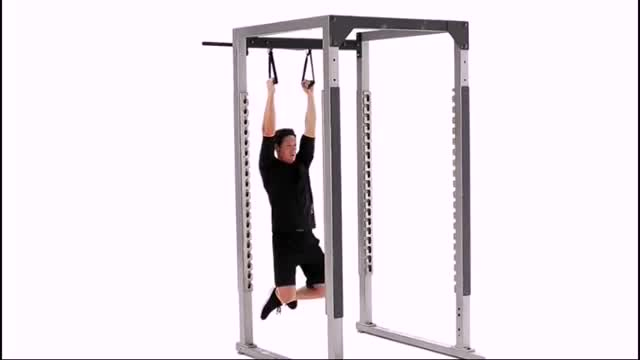Suspended Chinup demonstration