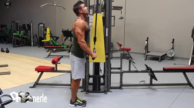 Cable Pushdown (with V-bar) demonstration