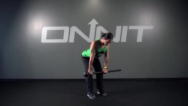 High Hinge Even Row Steel Mace Exercise demonstration