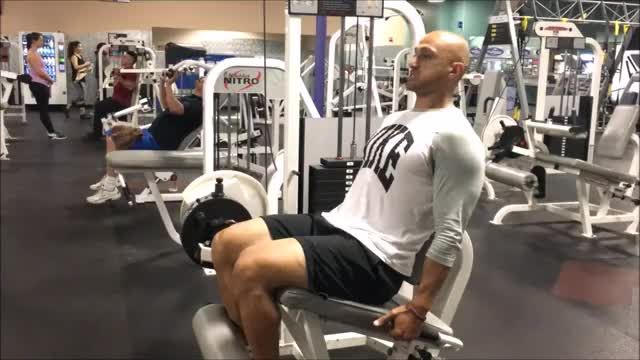 Leg Extensions demonstration