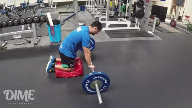 Barbell Rollout demonstration