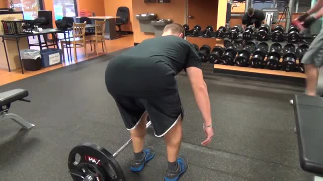 One-Arm Side Deadlift demonstration