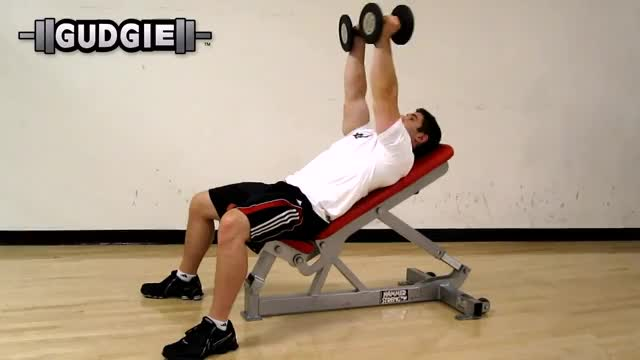 Alternate Incline Dumbbell Flys demonstration