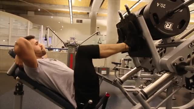 45 Degree Leg Press demonstration