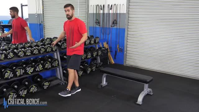 Partial Single-Leg Squat demonstration
