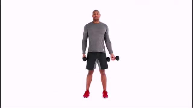 Combo Shoulder Raise demonstration
