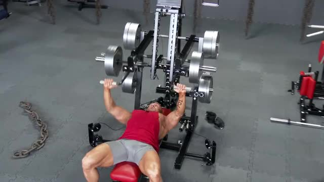 Lever Alternating Chest Press demonstration
