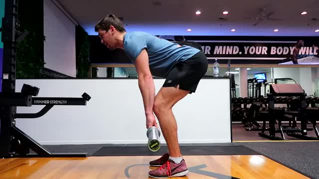 Bent Over Barbell Row demonstration