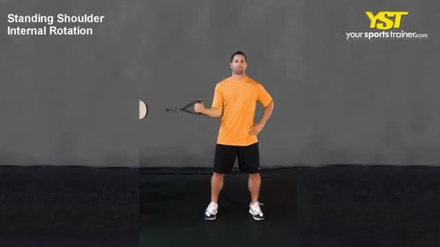 Cable Standing Shoulder Internal Rotation demonstration