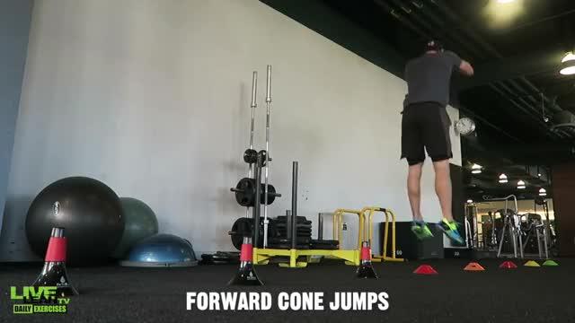 Male Cone Jumps demonstration