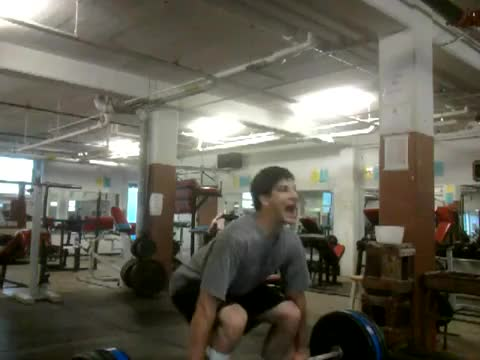 Power Clean and Jerk demonstration