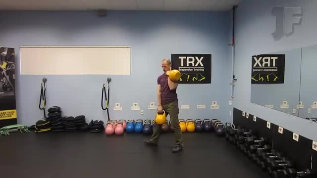Double Kettlebell Windmill demonstration